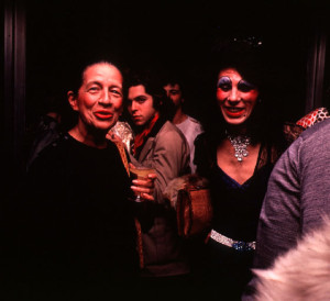 Diana Vreeland with Cockettes